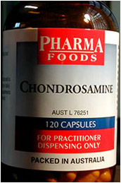 Glucosamine and chondroitin supplement