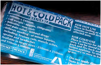 Hot and cold packs can aid in tissue repair