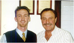 John Newcombe and Brent Gordon